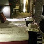 De luxe rom - Seng med badekåe