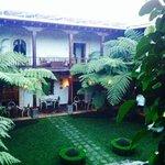 atrio giardino interno