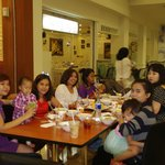 The Family dinner at Bak mi and others Pondok Mall