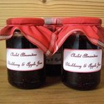 Our homemade jams being served this winter