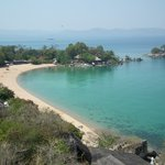 View of resort and beach