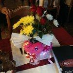Blommor vid firande