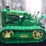 John Deere re-creation - made mostly of wood!