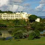 grounds at Grenadian by rex resorts