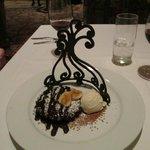 Chocolate Tiara dessert