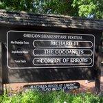 Oregon Shakespeare Festival September 2014, Ashland, OR