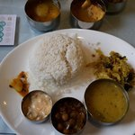 Fish curry lunch