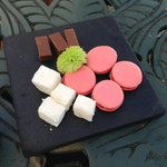 The heavenly petit fours.