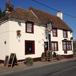 A traditional pub set on the outskirts of the village