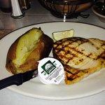 Grilled Swordfish Dinner