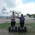 Crusing our Segways