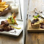 The horse fillet & the chocolate mousse