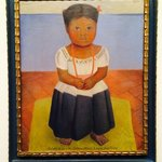 Delfina Flores by Diego Rivera. This is the first modern painting Marion McNay purchased as she