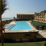 Vista do hotel, clicada de nossa sacada
