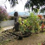 A Moai welcomes you
