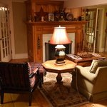 The pre-dinner gathering drawing room