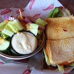 """The Blast Sandwich - Bacon, avocado & tomato"