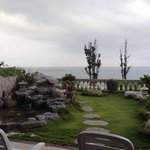 4人海景房的戶外庭園~��