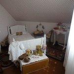 モンゴメリの生まれた部屋。