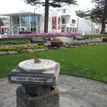 Marina Parade garden in Napier