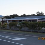 Entrance to the Matheson Motel, Fox Glacier
