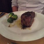 Steak at Osteria La Grotta