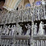 Internal sculptures, Chartres Cathedral (Sept 2014)