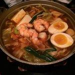 Kimchi Menchanko ramen.