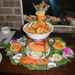 Seafood Platter part of package