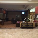 Big lobby and bar area