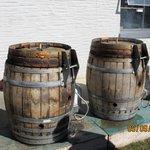 The cooking barrels