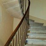 un escalier séculaire