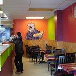 Inside the Paisley Hippo sandwich shop