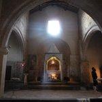 El sobrecogedor interior de Santa María Mayor