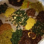 Foto de Queen Sheeba Ethiopian Restaurant