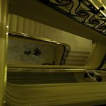 Treppenhaus-Atmosphäre
