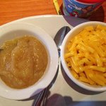 Mac and Cheese with Applesauce