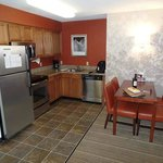 There is a small but complete kitchen in every room