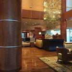 Standard Marriott lobby.