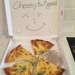 Personalised pizza delivery