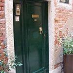 Quiet street - amazing door