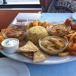 Mmm the Indian platter for two!