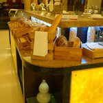 Bread and pastries section at Breakfast Buffet