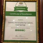 TA Certificate