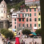 View of Vernazza from Room 2