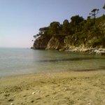Spiaggia del Villaggio di Alonissos