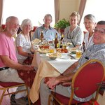 Lunch with friends at the Silk Route Restaurant