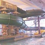 The Great Serengeti Waterpark tube slide