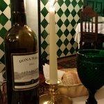 O delicioso vinho tomado no Tacho Real.