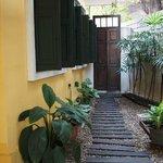 A pretty corner at Baan Pra Nond